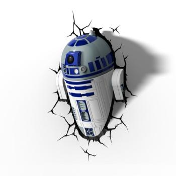 3D LED Star Wars Wandlampe - R2-D2™ Android 3
