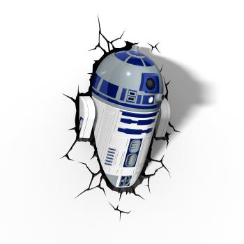 3D LED Star Wars Wandlampe - R2-D2™ Android
