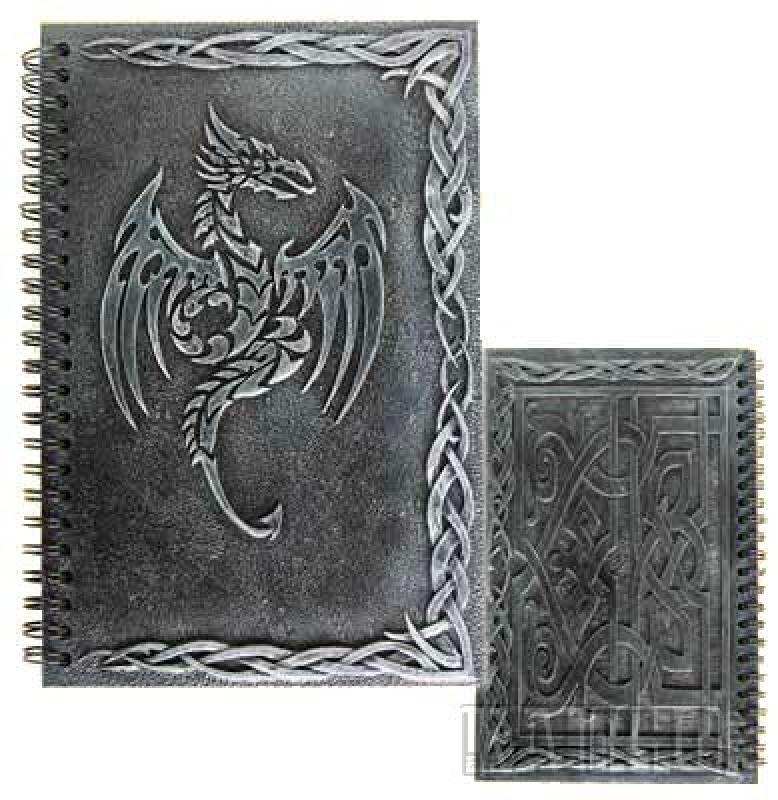 notizbuch-tribal-dragon