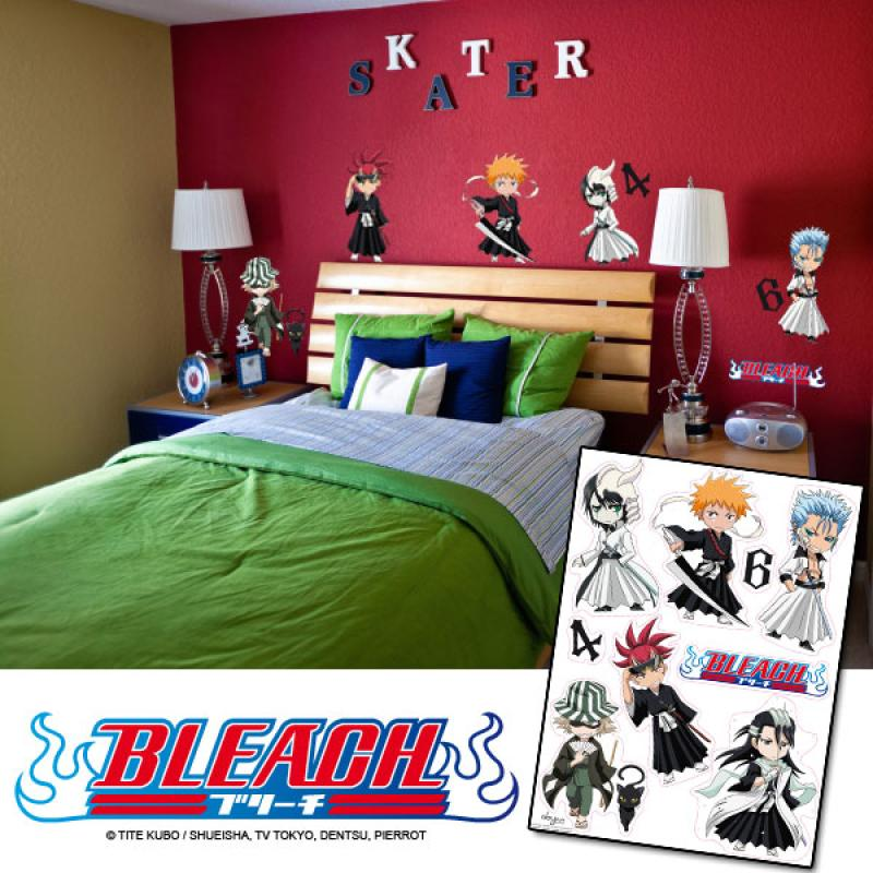 Bleach - Manga Wandsticker - Motive 1
