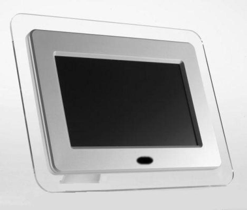 somikon digitaler 7 bilderrahmen crystal view troph en horror dekowaffen. Black Bedroom Furniture Sets. Home Design Ideas