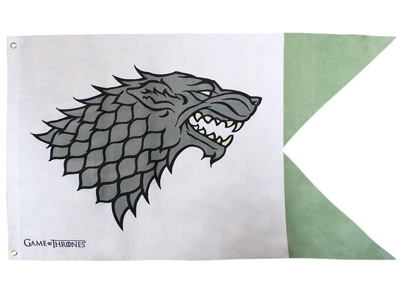 GAME OF THRONES Stark Fahne / Flagge