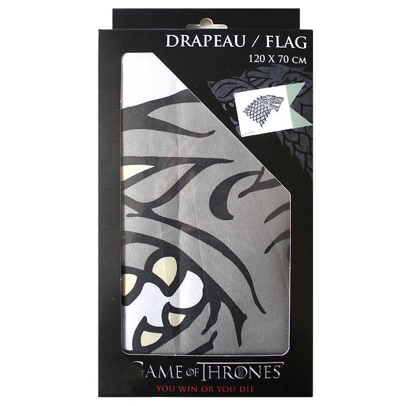 GAME OF THRONES Stark Fahne / Flagge 2
